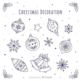 Decoración navidad lineal