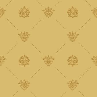 Decoración de patrones sin fisuras. decoración de fondo abstracto vintage. plano