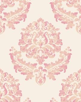 Decoración real patrón de adorno vintage de lujo. diseño barroco
