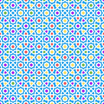 Decoración de textura fluida patrón árabe. ilustración vectorial
