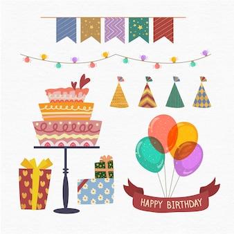Decoraciones de fiesta de cumpleaños