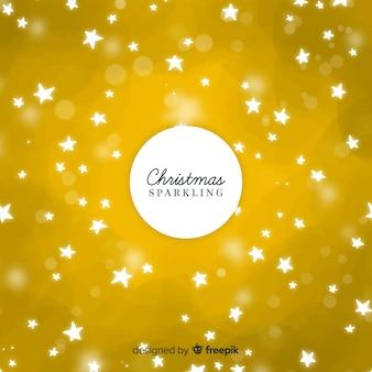 Decorativo fondo de resplandecer de navidad