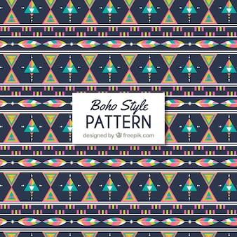 Decorativo patrón en estilo boho
