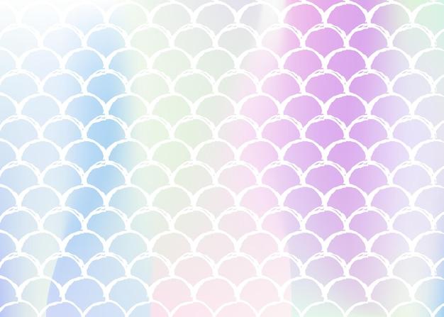 Degradado con escalas holográficas. transiciones de colores brillantes.