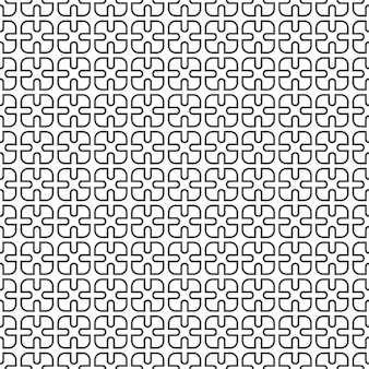 Delicado monocromo de patrones sin fisuras