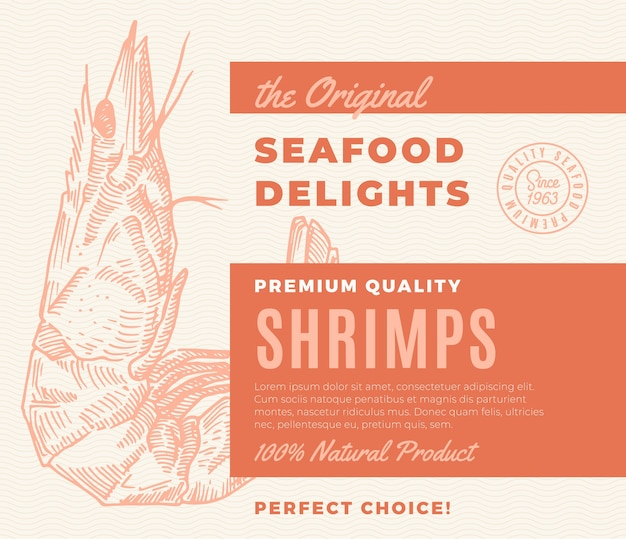 Delicias de mariscos de primera calidad