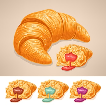Delicioso croissant