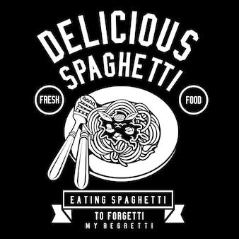 Deliciosos espaguetis