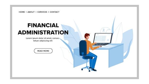 Departamento de empresa de administración financiera