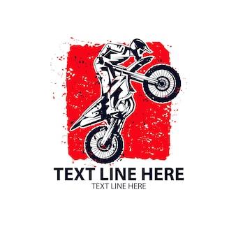 Deporte extremo de motocross