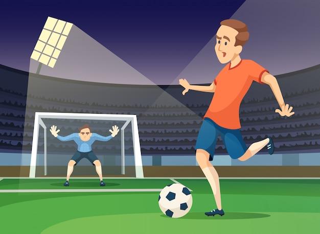 Deporte de jugar personajes