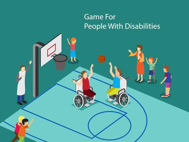 Deporte para personas con discapacidad.