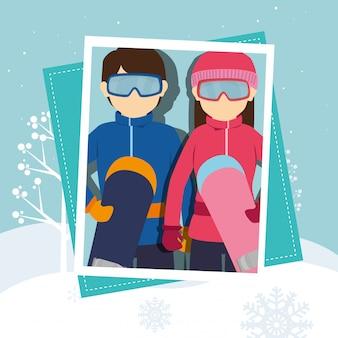 Deportes de invierno y accesorios de uso