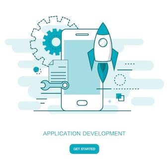 Desarrollo de aplicaciones y aplicaciones móviles.