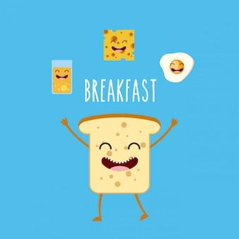Desayuno delicioso y nutritivo.