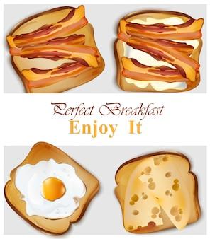 Desayuno saludable tostadas