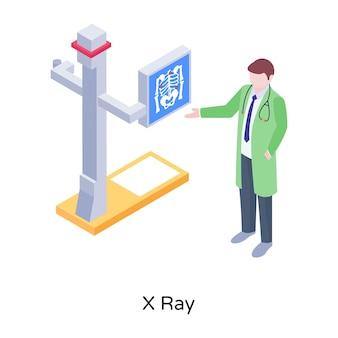 Descargue la ilustración de rayos x en gráficos editables premium