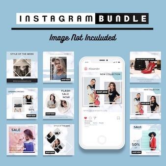 Descuento creativo plantilla instagram post
