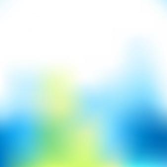 Desenfoque de fondo de color frío