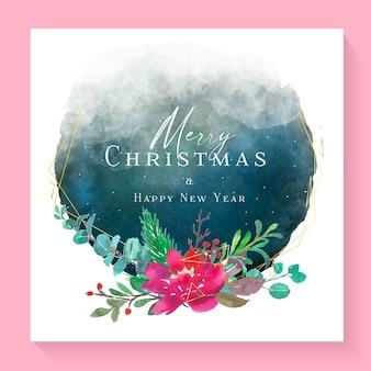Deseos de feliz navidad y próspero año nuevo
