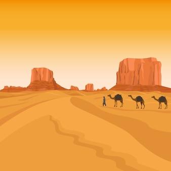 Desierto de sahara en egipto