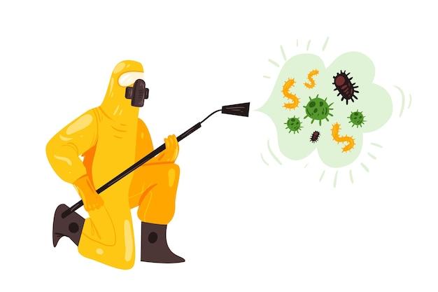 Desinfección de virus