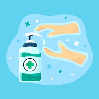 Desinfectante de manos