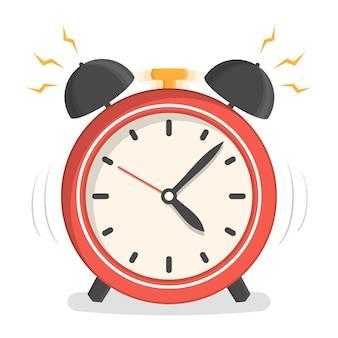 Despertador rojo