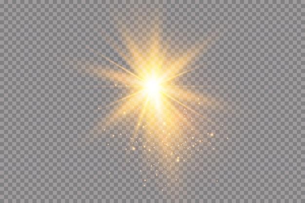 Destacar. efecto de luz