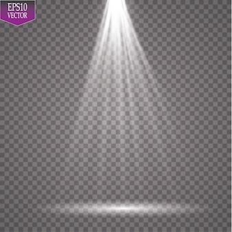Destacar. efecto mágico de luz