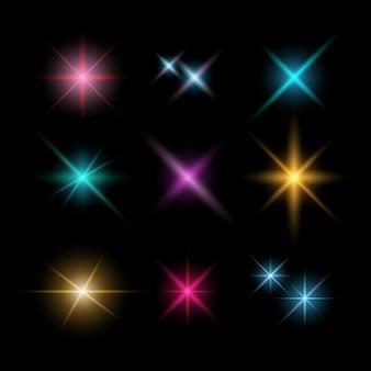 Destellos de lente y efectos de iluminación
