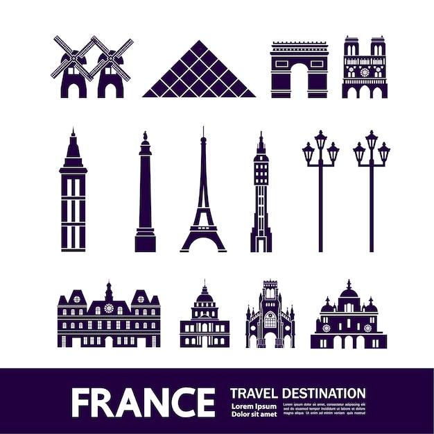 Destino de viaje de francia.