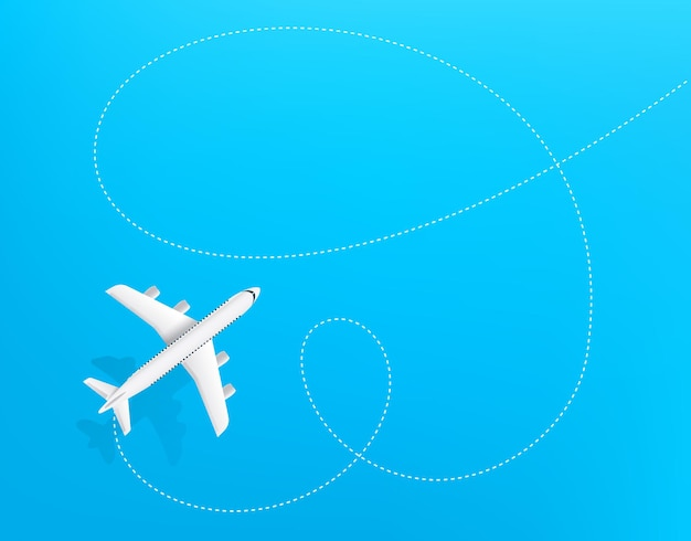 Destino de viaje. plantilla de diseño de vista superior