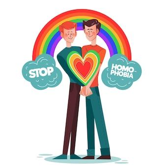 Detener el concepto de homofobia