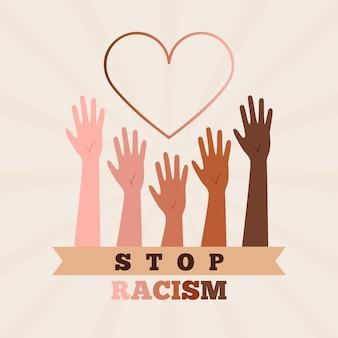 Detener el concepto de racismo
