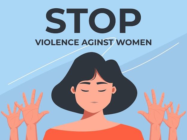 Detener la conciencia de la violencia contra las mujeres
