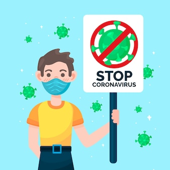 Detener el coronavirus