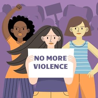 Detener la violencia de género