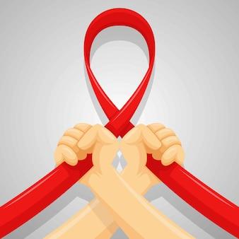 Día de ayudas de mano. fondo del día mundial de la salud sexual, estilo de dibujos animados plana