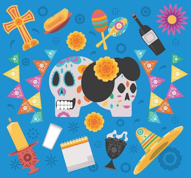 Dia de los cráneos muertos