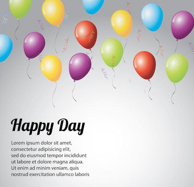 Día feliz