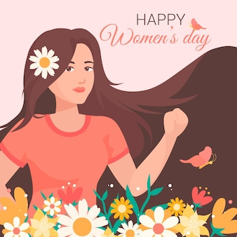 Día floral de la mujer