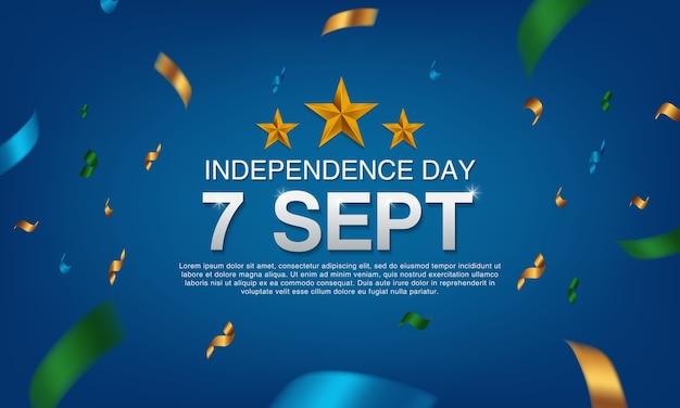 Día de la independencia 7 de septiembre