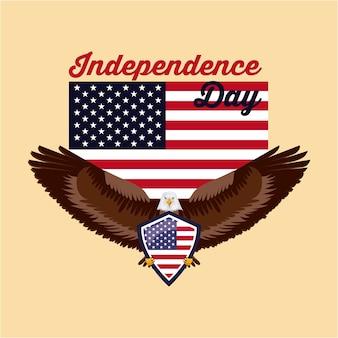 Día de la independencia américa