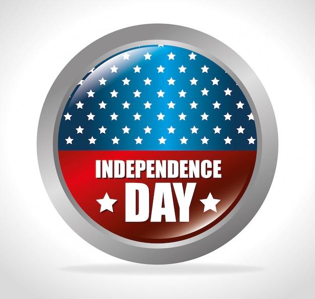 Día de la independencia de los estados unidos, 4 de julio.