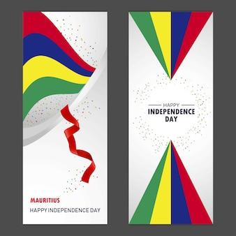 Día de la independencia feliz de mauricio