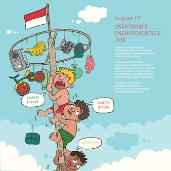 Día de la independencia de indonesia