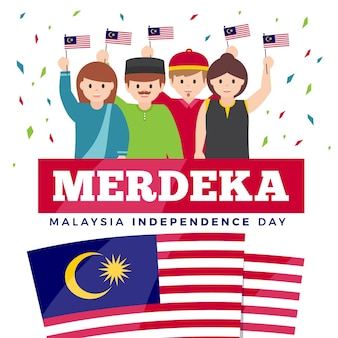 Día de la independencia de merdeka, malasia
