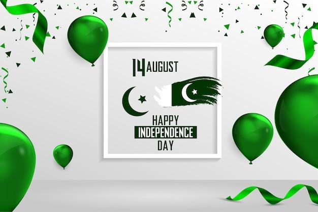 Día de la independencia de pakistán 14 de agosto