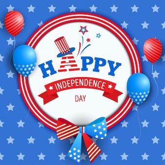 Dia de la independencia weath ribbon